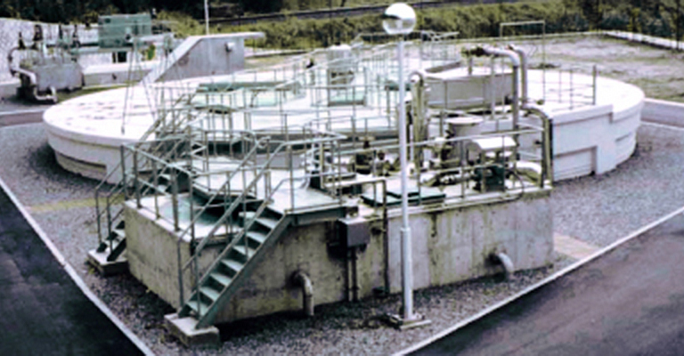 汚水処理施設